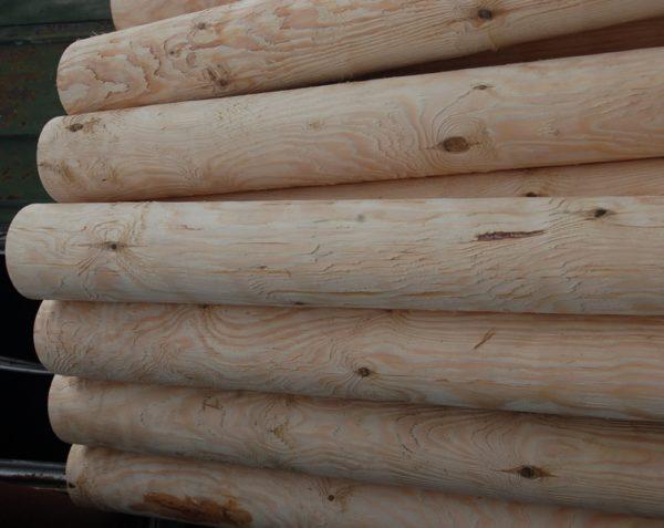 Столб оцилиндрованный Ø 170мм х 2,95м